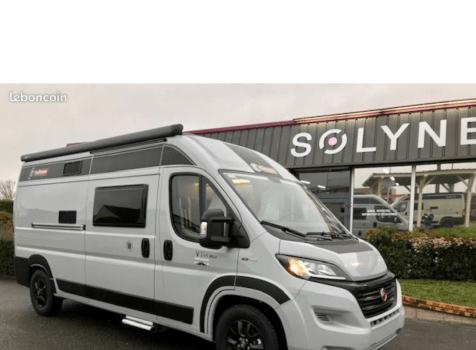 camping-car CHALLENGER V 114 MAX   extérieur / latéral droit